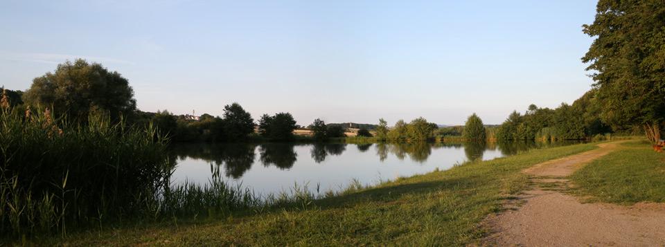 <b>Etang de pêche</b> - La base de loisirs