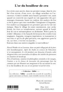 L'or du bouilleur de cru - Couv 4
