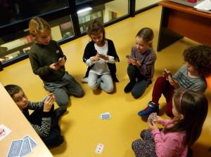 découverte jeux de cartes