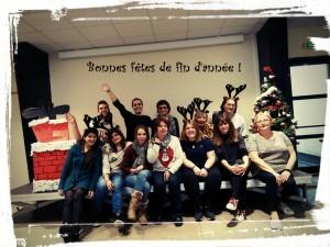 équipe Boust Noël 2018