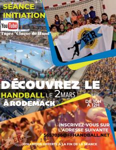 flyer Handball Rodemack