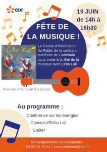 Flyer Fête de la Musique_centrale Cattenom